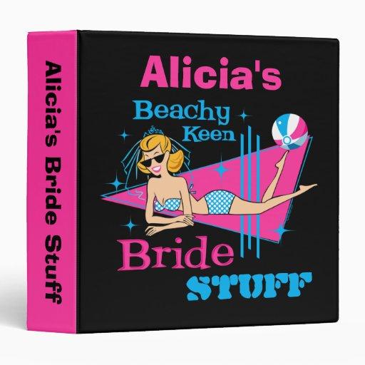 Beachy Keen Bride Keepsake Binder