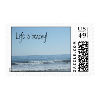 Beachy Keen Postage Stamp