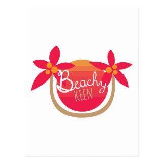 Beachy Keen Postcard