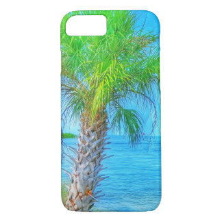 Beachy Palm Tree and Oceans iPhone 7 Case
