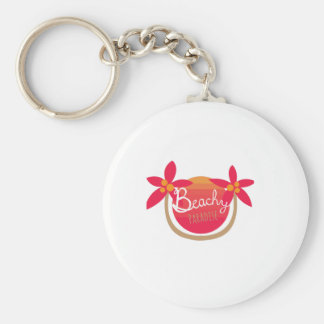 Beachy Paradise Key Chains