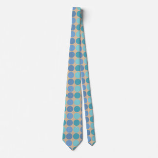 Beachy Polka Dots Neck Tie