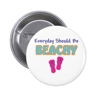 Beachy Products Pinback Button