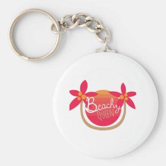 Beachy Queen Key Chain