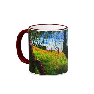 Beachy Ringer Mug