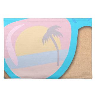 Beachy Shades Custom Style Cloth Placemat