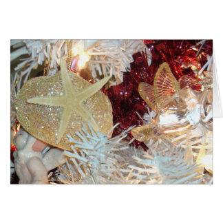 Beachy Shell Christmas Card