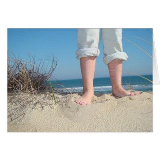 Beachy Stationary Card