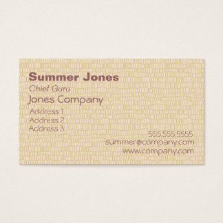 Beachy Stripes Business Card