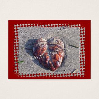 Beachy Valentine Business Card