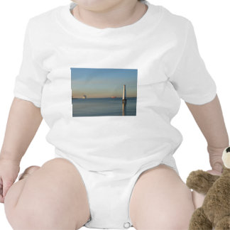 Beacon at dawn baby bodysuit