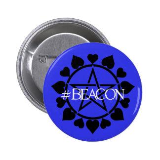 #BEACON Con Badge -style 1 Button