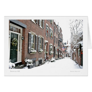 Beacon Hill: Boston MA Card