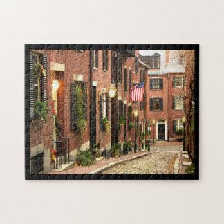 Beacon Hill Boston Puzzle