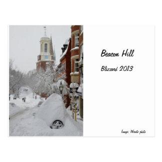 Beacon Hill, Mount Vernon Street Postcard