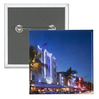 Beacon Hotel, Ocean Drive, South Miami Beach, Flor Button