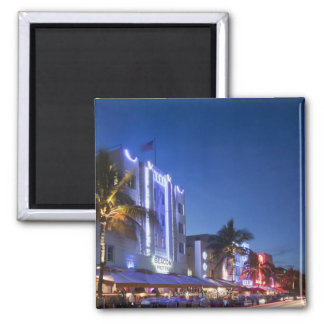 Beacon Hotel, Ocean Drive, South Miami Beach, Flor Magnet