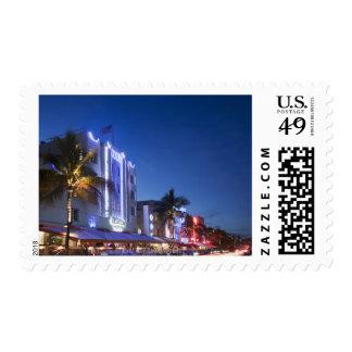 Beacon Hotel, Ocean Drive, South Miami Beach, Flor Postage
