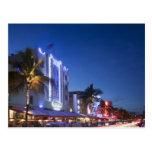 Beacon Hotel, Ocean Drive, South Miami Beach, Flor Post Card