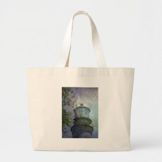 Beacon of Hope Lighthouse Large Tote Bag