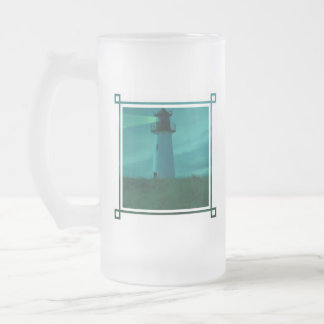 Beacon of Light Frosted Beer Mug
