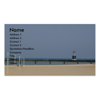 Beacon Photo Business Cards. Double-Sided Standard Business Cards (Pack Of 100)