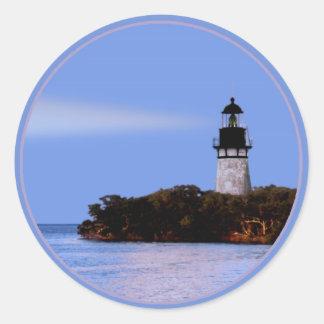 Beacon Point Round Sticker