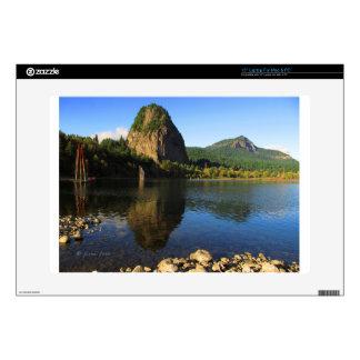"Beacon Rock State Park, Columbia River Gorge. 15"" Laptop Skins"