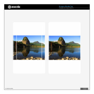 Beacon Rock State Park, Columbia River Gorge. Decals For Kindle Fire