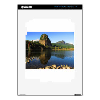 Beacon Rock State Park, Columbia River Gorge. iPad 3 Decals