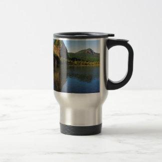 Beacon Rock State Park, Columbia River Gorge. Travel Mug