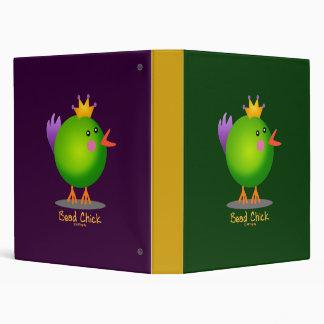Bead Chick - Green Binder