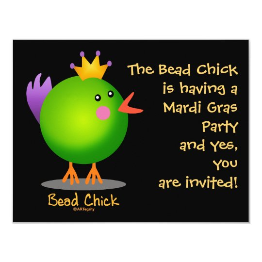 Bead Chick - Green Card