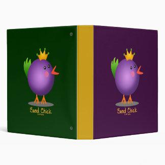 Bead Chick - Purple Binder