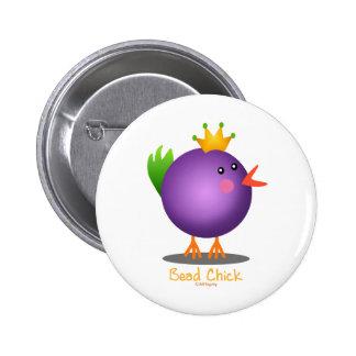 Bead Chick - Purple Button