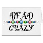 Bead Crazy Card