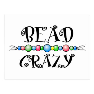 Bead Crazy Post Cards