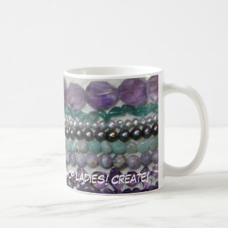 Bead Daily!  The Rock Shop Ladies! Cr... Classic White Coffee Mug