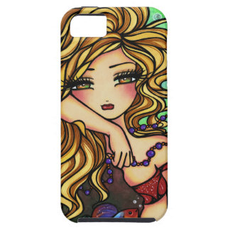 Bead Fish Mermaid Fantasy Marine Art iPhone Case