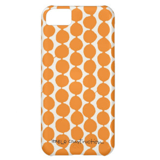 Bead iPhone 5 Barely There Universal Case in Tang iPhone 5C Cover
