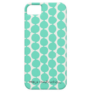 Bead iPhone 5 Barely There Universal Case in Turq iPhone 5 Cover