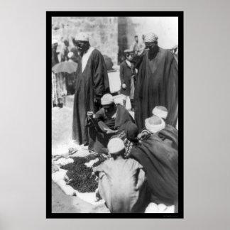 Bead Peddler in Damascus, Syria 1892 Poster
