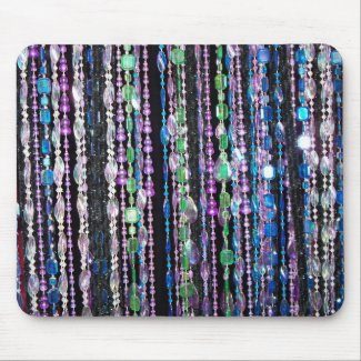 bead print mousepad mousepad