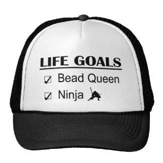 Bead Queen Ninja Life Goals Trucker Hat
