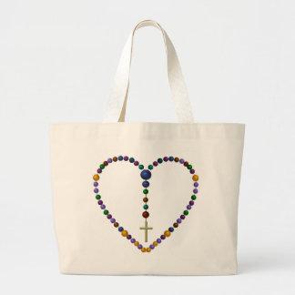 Bead Rosary #1 Canvas Bag