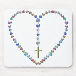 Bead Rosary #2 Mouse Pad