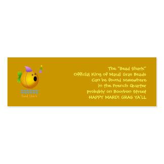 Bead Shark - Gold Business Card