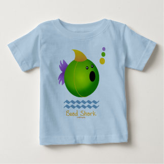 Bead Shark - Green Baby T-Shirt