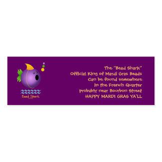 Bead Shark - Purple Business Cards