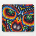 Bead Skull Eyes Mouse Pad